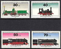 Briefmarken 1975 Berlin 488 489 490 491 postfrisch Loks Lokomotiven Eisenbahn