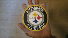 Pittsburgh Steelers SILICA GEL cling sticker - Big