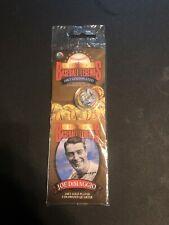Golden Baseball Legends 24KT Gold Plated Colorized Quarter Joe Dimaggio *NEW*