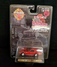 Racing Champions '69 Chevy Corvette Die Cast Metal Red