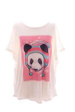 TP-42 Panda Bär Bear Zipfelmütze Cute Pastel Goth T-Shirt Lolita Harajuku Japan