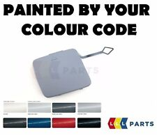 BMW NEW FRONT BUMPER TOW HOOK EYE COVER F20 F21 PAINTED BY YOUR COLOUR CODE