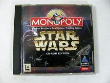 Monopoly: Star Wars Edition (PC, 1997) CD-ROM Win 95 Hasbro Interactive