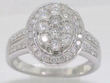 Sonderposten Diamant Brillant Ring Weißgold Gold total 1ct Wesselton