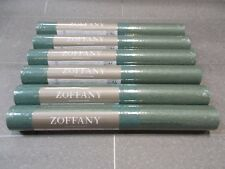 Zoffany Wallpaper - 'HAVANNA STRIPE' - 6 Rolls - Unopened ZPEW03001 - PEACOCK