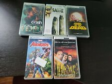 NEW UMD Video Lot of 5 movies Avengers, Saw 2, Crash, Dawn of the Dead & more