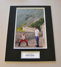 Jackie Chan Signed 16x12 Photo Autograph The Karate Kid Memorabilia Display +COA