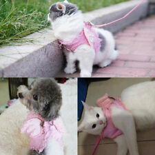 Angel Pet Cat Dog Harness Safety Walking Cat Harness For Dog With Lead Leash