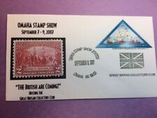 #4136 Jamestown Settlement 2007 FDC L63 Omaha & Great Britain Collectors Club