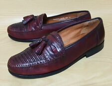 Nordstrom Kappa Woven Tassel Loafers Mens Shoes Size 7