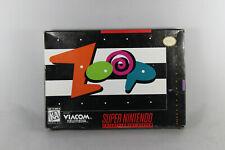 Zoop (SNES, Game + Box + Manual)