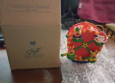 AVON GIFT COLLECTION SANTA AND COMPANY FERRIS WHEEL ORNAMENT NEW IN BOX