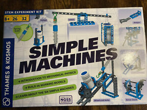 Thames & Kosmos Simple Machines STEM Experiment and Model Building Kit