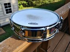 "New ListingPremier series 2000 M#2024 14""X4"" brass snare late 1980's - early 90's used."