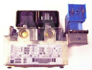 Ravenheat 837 Tandem 0837025 / SIT gas valve PN: 0008VAL03005/0