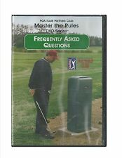 Frequently Asked Questions PGA Tour Master the Rules Partners Club New DVD