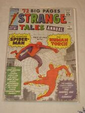 STRANGE TALES ANNUAL 2 MARVEL Silver Age 4th Appearance Spider-Man VG/F 1963 KEY