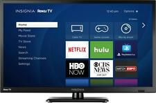 "Insignia- 24"" Class - LED - 720p - Smart - HDTV Roku TV"