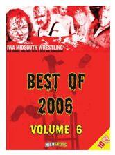 IWA MID-SOUTH 10 DISC SET - BEST OF 2006 VOLUME 6 DVD Wrestling NWA CZW PWG NXT