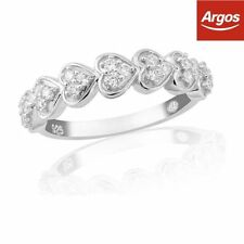 Unbranded Eternity Heart Costume Rings
