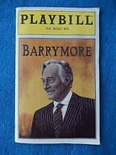 Barrymore - Music Box Playbill w/Ticket - Opening Night - March 27th, 1997