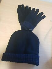 George Navy & Black Isolation Insulation Gloves and Hat Size L / XL