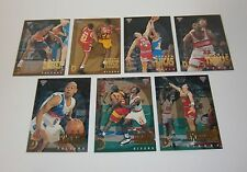 1994 Futera NBL II Basketball Defensive Giants complete set of 7 insert cards
