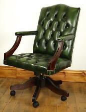Cool Green Leather Captains Chair Ebay Machost Co Dining Chair Design Ideas Machostcouk
