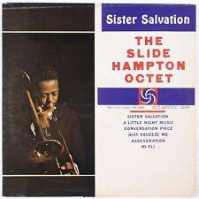 SLIDE HAMPTON OCTET w/ FREDDIE HUBBARD: Sister Salvation ATLANTIC Jazz lp HEAR