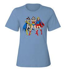 CAMISETA femenina  super heroinas DC TALLA S M L XL XXL SIZE T-SHIRT