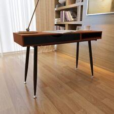 Retro 60s Workstation Computer Desk Laptop Table Office Study Storage Writing