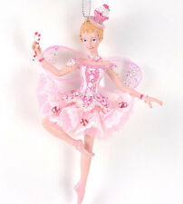 "Nutcracker Ballet Sugar Plum Fairy Ballerina 7"" Christmas Ornament NEW"