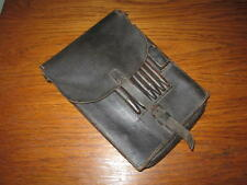 WW2 German / Luftwaffe M35 Leather Dispatch Map Case #2 - NAMED - VERY NICE!