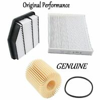 Tune Up Kit Cabin Air Oil Filters for Lexus GS350 RWD 2007-2011 To 12//11