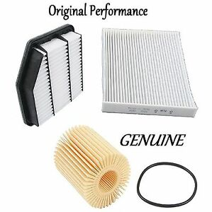 Tune Up Kit Cabin Air Oil Filters for Lexus GS350 RWD 2007-2011