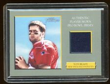 TOM BRADY 2006 TOPPS TURKEY RED GAME WORN PRO BOWL JERSEY SP  RARE  PATRIOTS