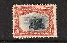 sc# 296  4c, deep-red-brown & black  Pan-Am.  Mint.