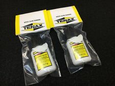 Tenax Instant Super Glue Adhesive 2 Bottles 1/4 oz each.