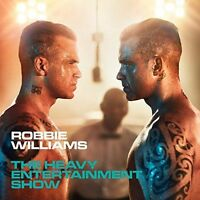 ROBBIE WILLIAMS THE HEAVY ENTERTAINMENT SHOW DELUXE CD (RELEASED on 4/11/2016)