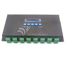 Artnet To SPI DMX Pixel Light Controller LED Light Control 16CH DC5V-24V 340P