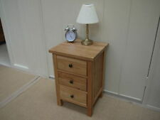Handmade Solid Wood Traditional Bedside Tables & Cabinets