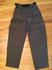 The North Face Women's Size S/P Paramount Peak Convertible Pant Hiking Brown