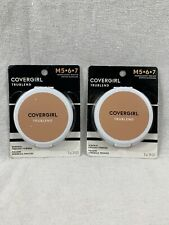 (2) Covergirl Tru Blend Mineral Pressed Powder M567 - Translucent Medium