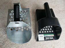 Heavy Duty Galvanized Hand Sand Scoop Plus prospector's choice plastic scoop