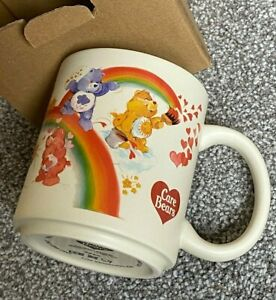 NEW Rare  Quality Vintage Retro Style The Carebears Care Bears Stoneware Mug Cup