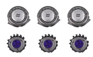 Rasierer Rasiererkopf Ersatzklingen Knipser 3pcs für Philips Norelco HQ9 HQ8