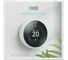 Nest Learning Thermostat 3rd Generation - White NEW & UNOPENED UK