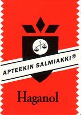 24-Pack Haganol Apteekin Salmiakki - Finnish - Salmiak Salty Licorice Pastilles
