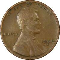 1940 S Lincoln Wheat Cent AG About Good Bronze Penny 1c Coin Collectible