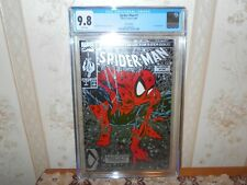 1990 SPIDER-MAN #1 (CGC 9.8) SILVER EDITION McFarlane....